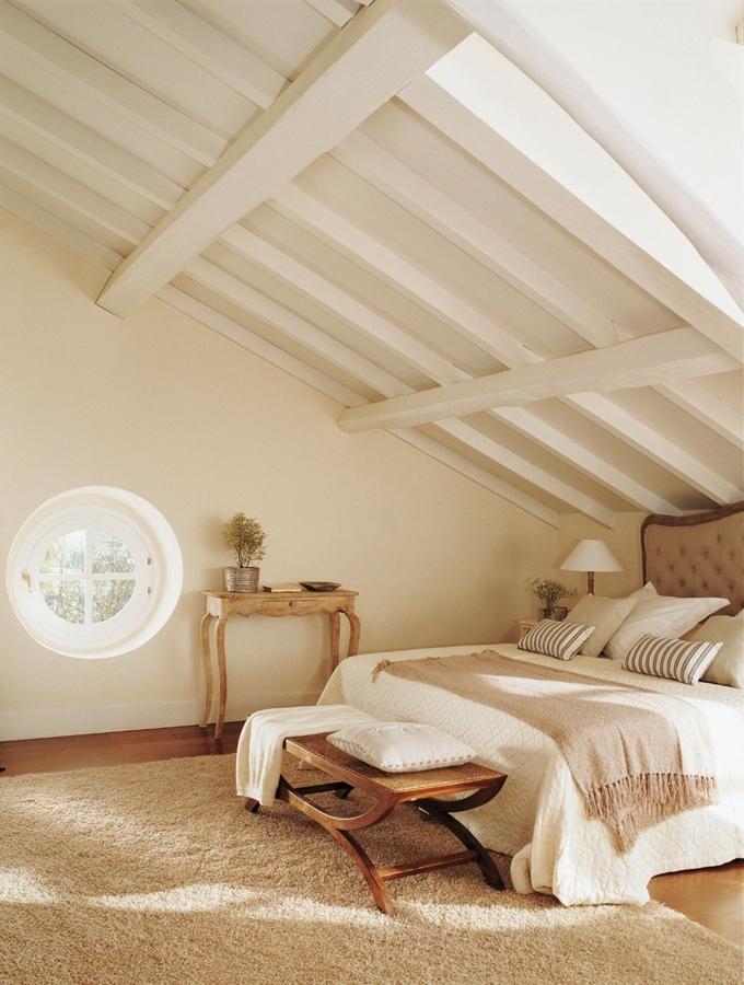 La belleza de los dormitorios abuhardillados ideas - Alfombras dormitorio ikea ...