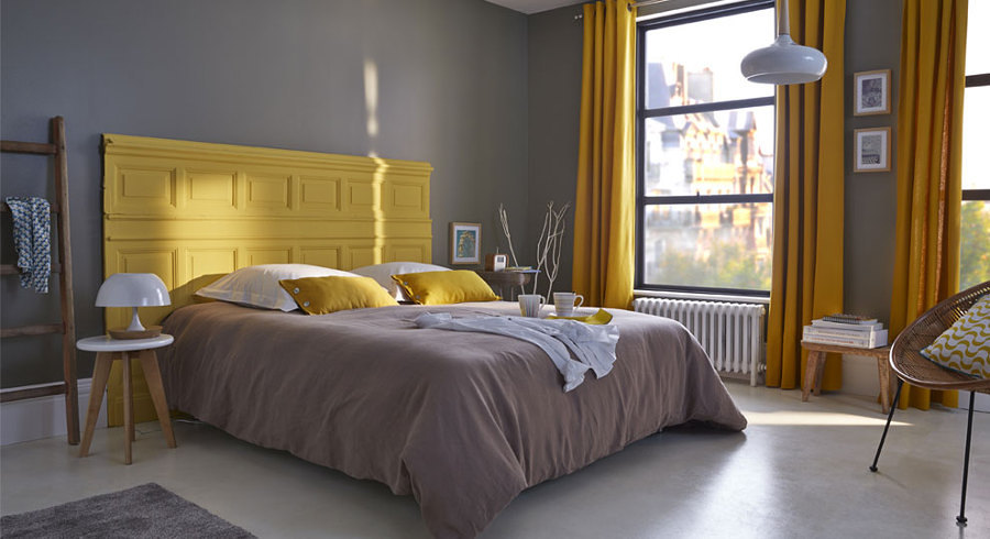 dormitorio-en-gris
