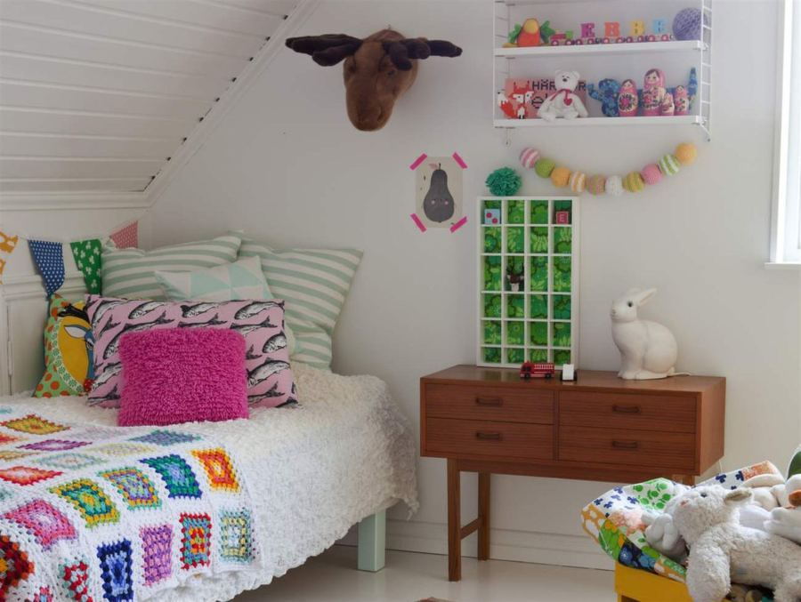 dormitorio niño con estilo nórdico