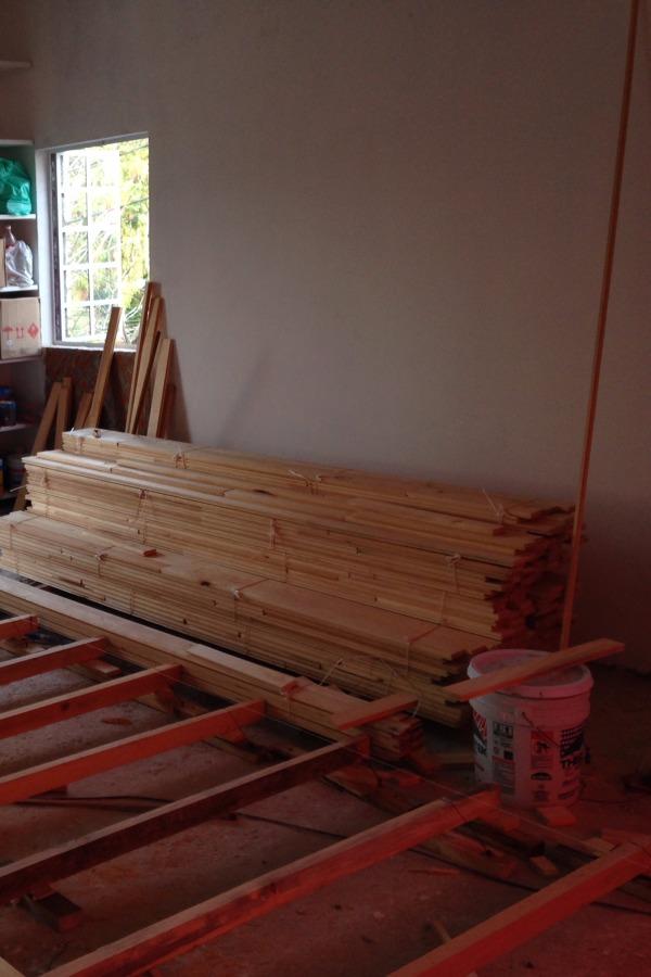 Foto duela de madera flotada de l g arquitectos 129991 - Duelas de madera ...