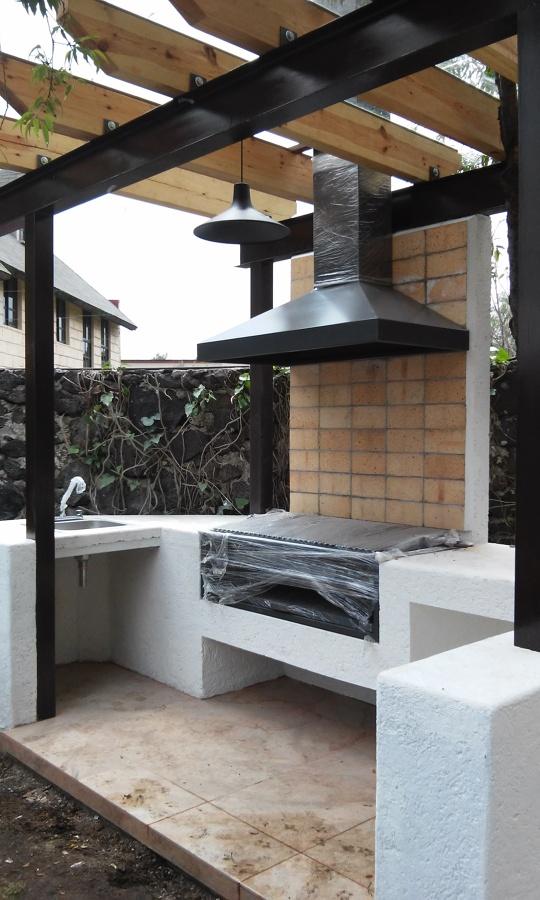 Foto el asador de dise o y arquitectura 125883 habitissimo for Parrillas para casas modernas