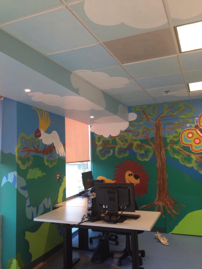 Mural para estancia infantil ideas dise o de interiores - Diseno de interiores ideas ...