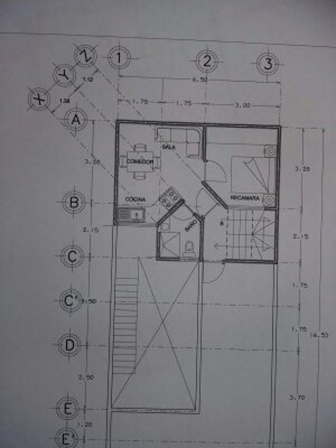 elaboración plano arquitectónico