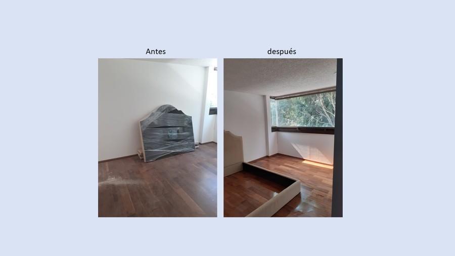 Eliminación de polvo y renovación de pisos
