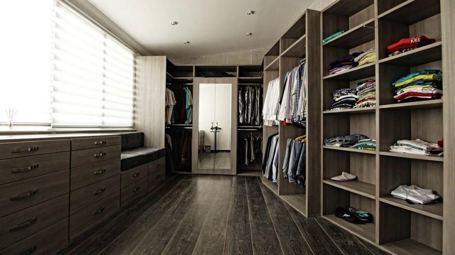 Entrepaños para ropa doblada