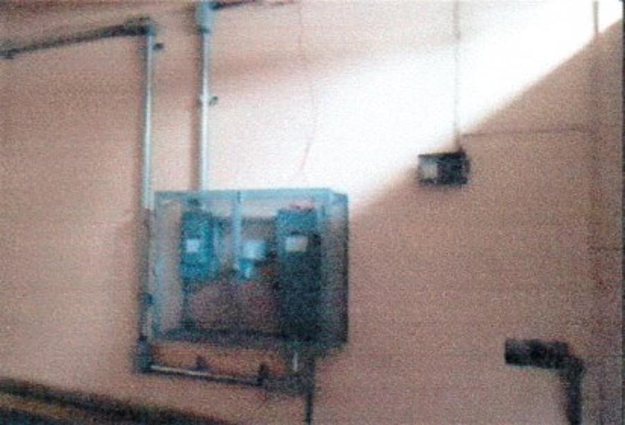 Equipamiento de control electrico de la torre