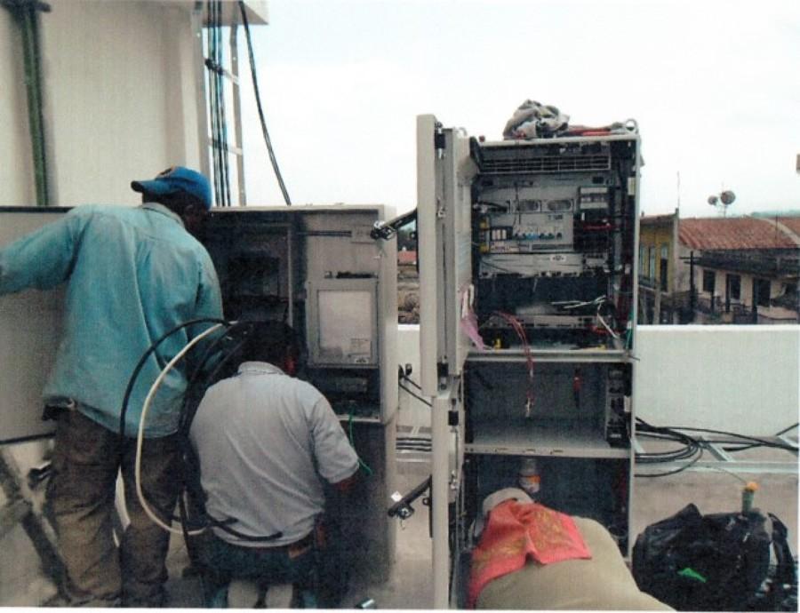 Equipamiento electromecanico de la torre