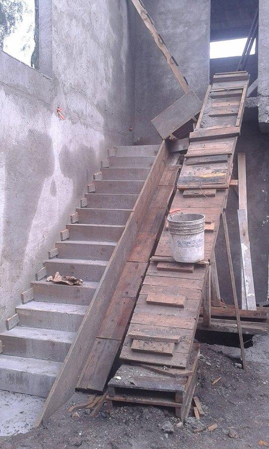 escalera de concreto armado