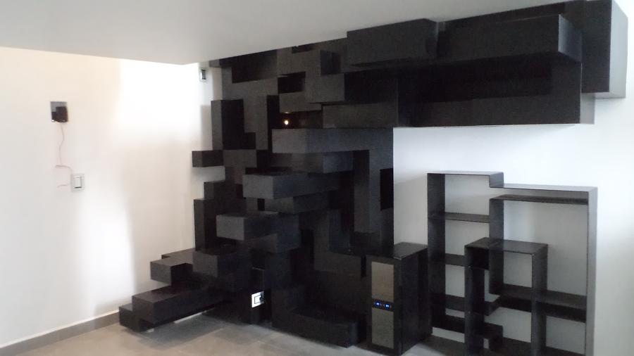 Foto escalera librero escultura de mi casa 333213 for Librero escalera