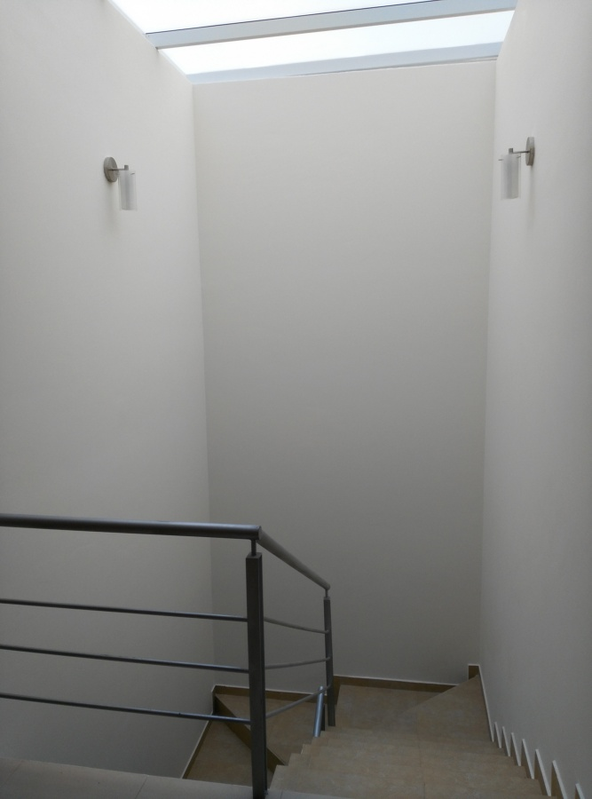 Escalera y domo