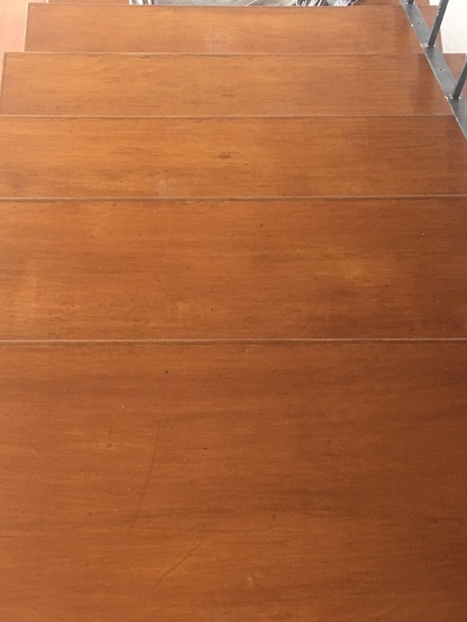 Escaleras, limpieza