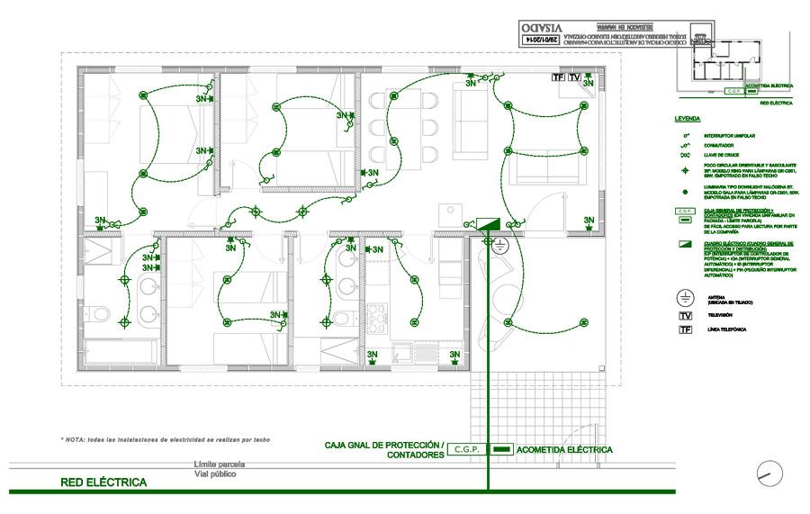 Foto esquema electricidad de fem arquitectura 284505 - Fem arquitectura ...