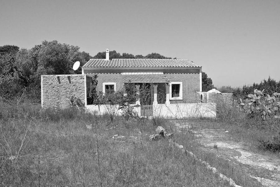 Casa rural antes de remodelación