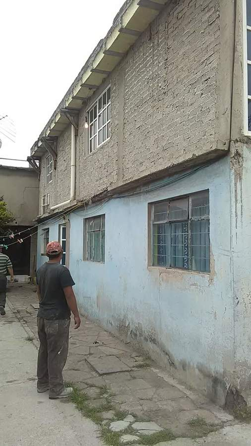 Estado original de fachada