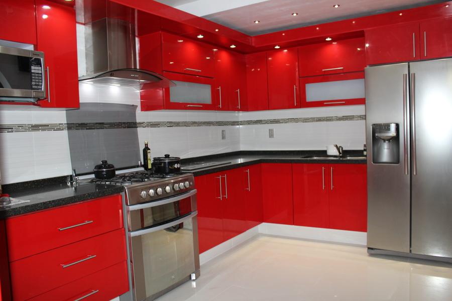 estilo minimalista rojo