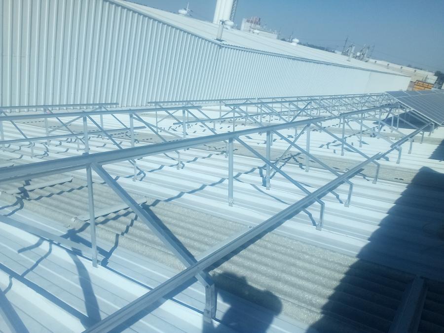 Estructura de paneles solares
