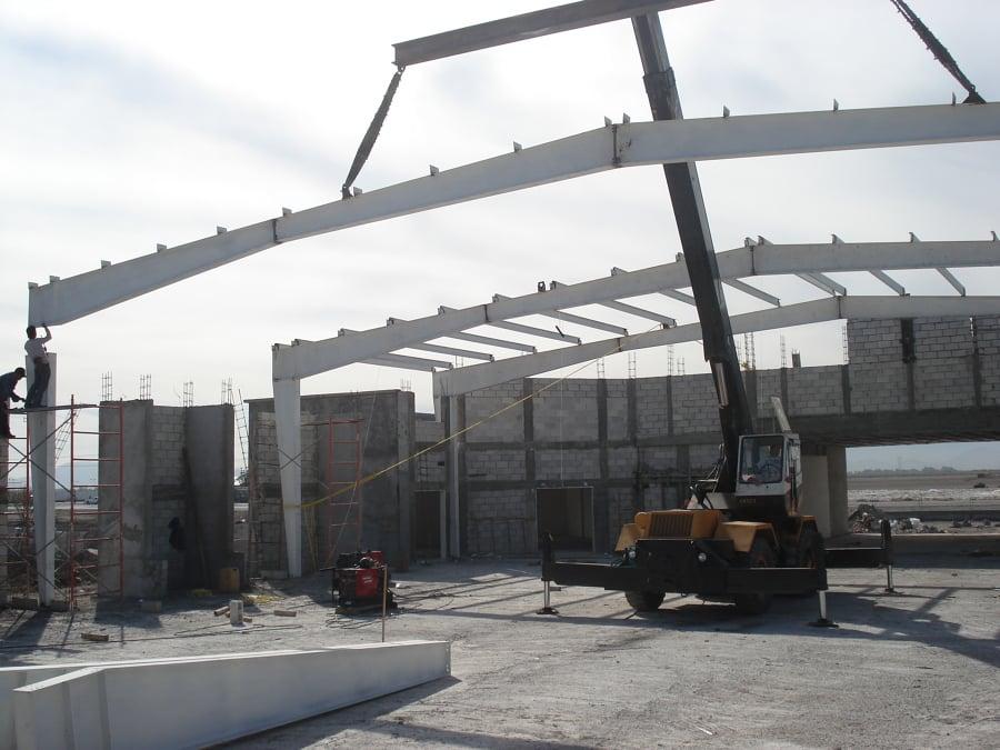 Foto estructura met lica 1 de avlag construcciones 63550 - Fotos de construcciones metalicas ...