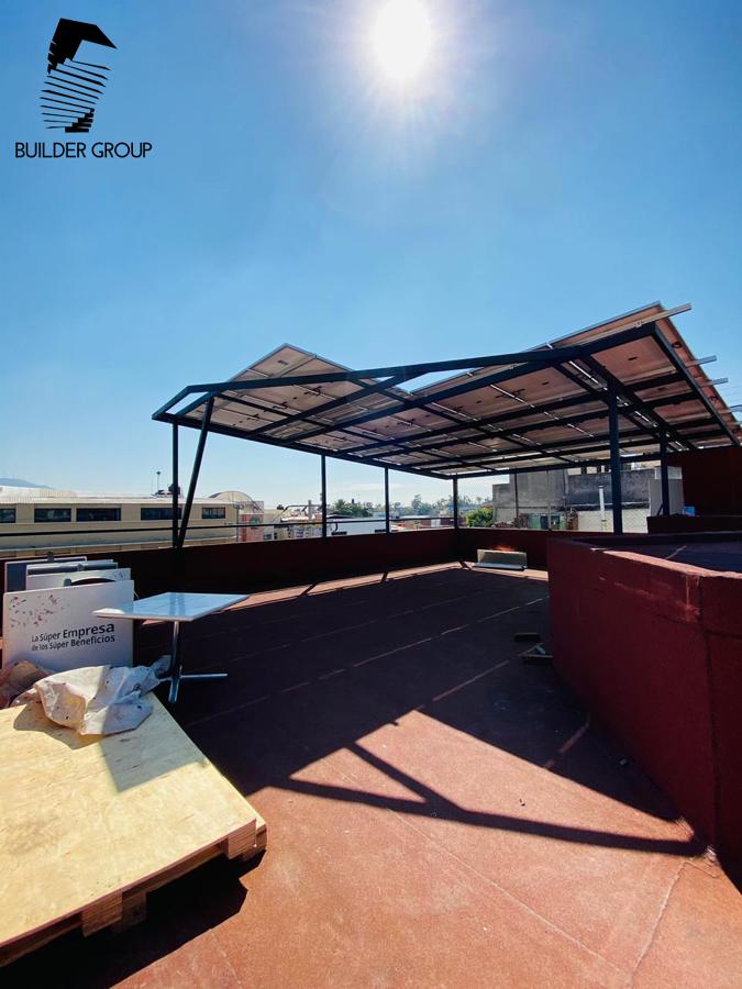 Estructura Paneles Solares 1