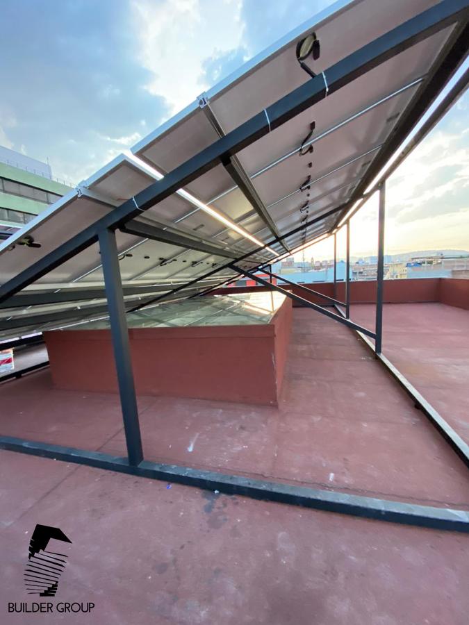 Estructura Paneles Solares 2