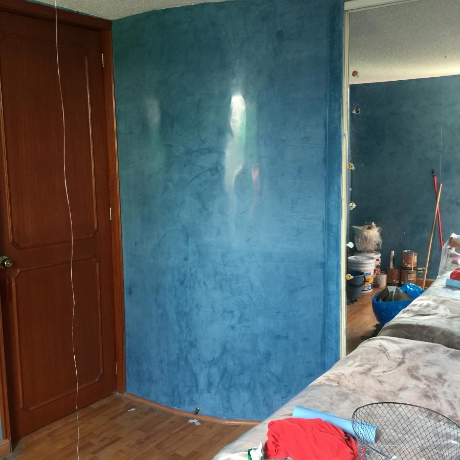 Estuco- Veneciano azul