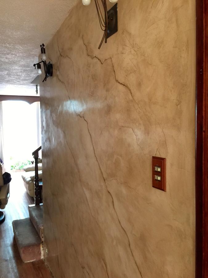 Foto estuco veneciano con veta de antonio gonz lez for Estuco para banos