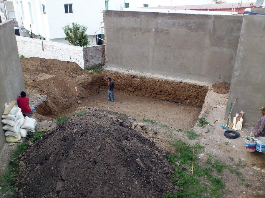 Excavación 1.