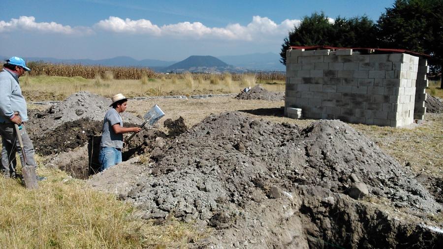 Excavación de cepas