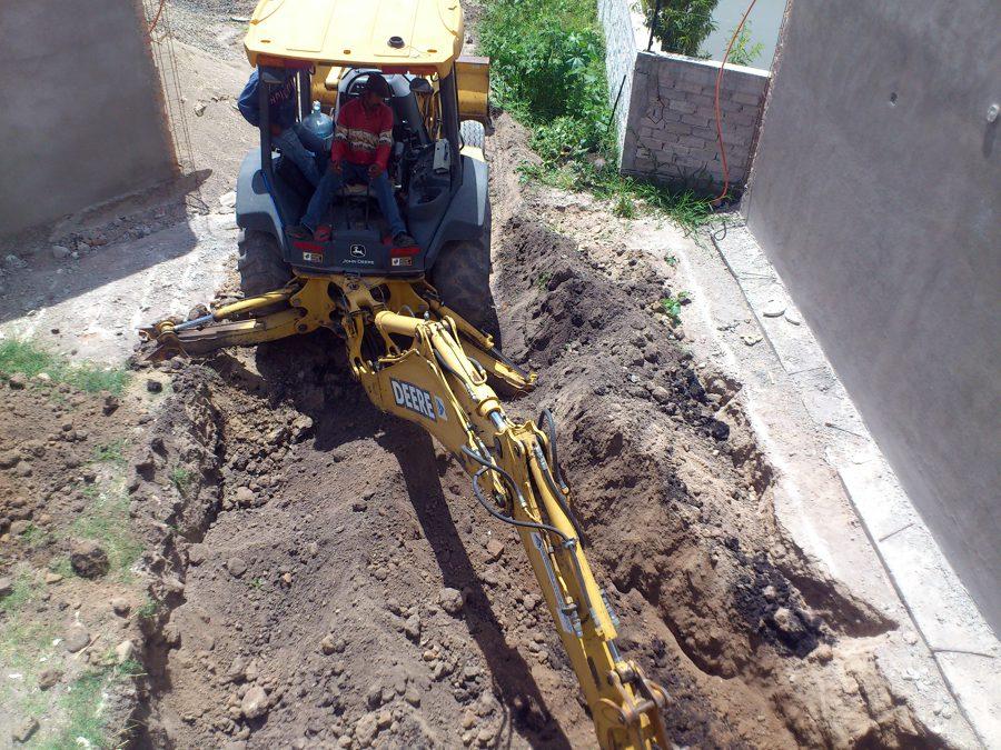 Excavación.