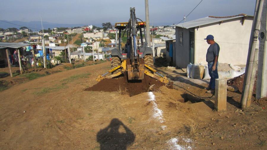 Excavaciones con equipo mecanico.