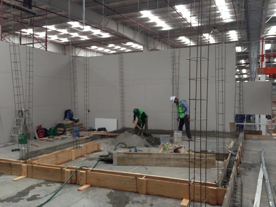 Construcci n de oficinas samsung parque industrial for Construccion de oficinas
