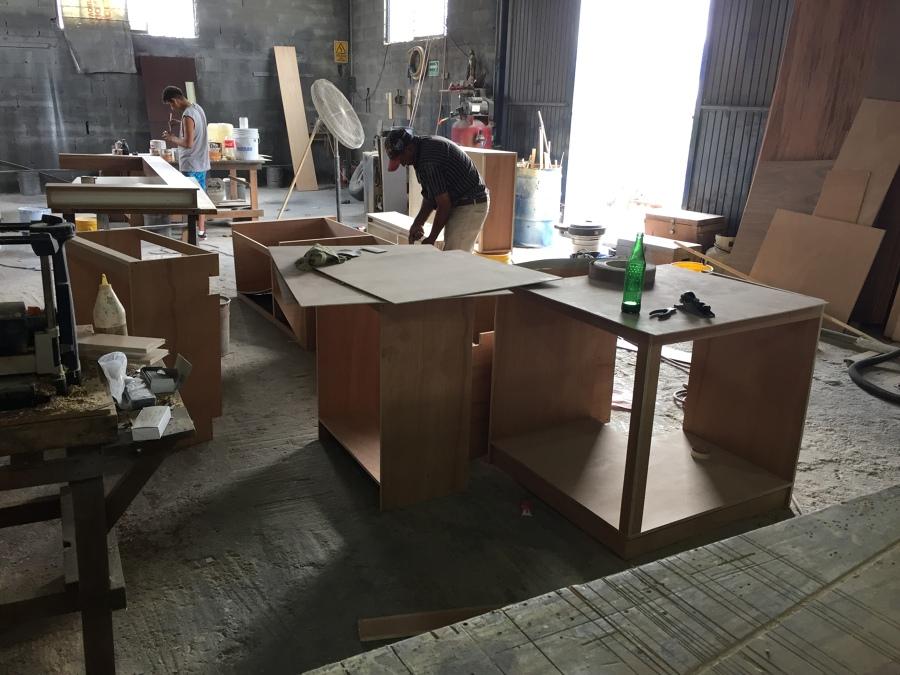 fabricación de cocina