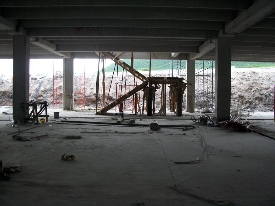 Fabricación de escalera.