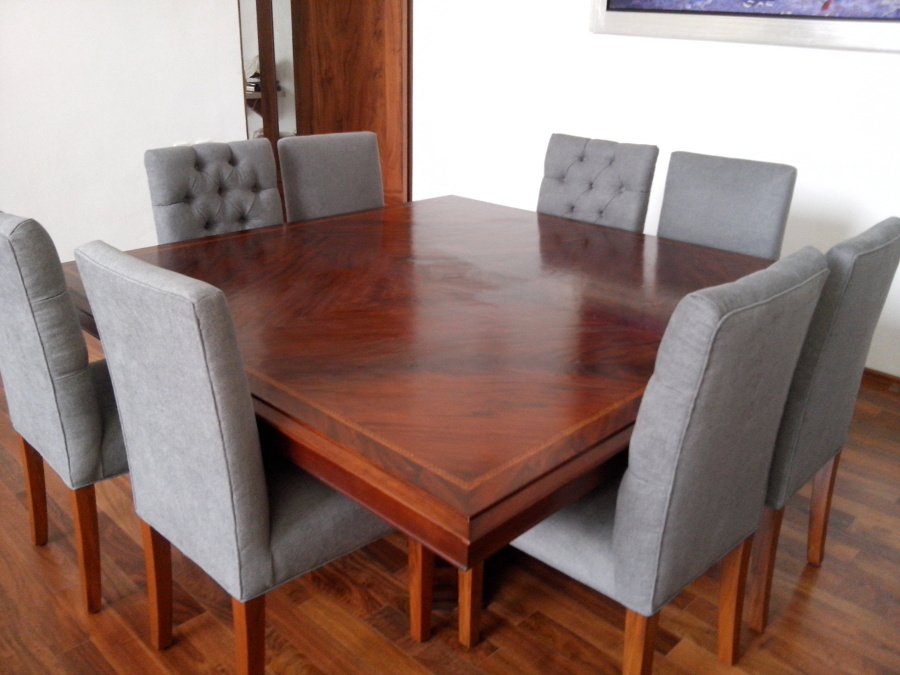 Fabricación de sillas y tapizado Sra. Muñoz
