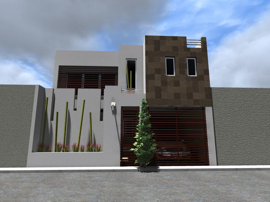 foto fachada casa habitaci n de adda arquitectura y
