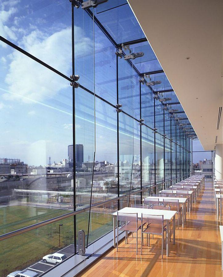 Foto fachada con ara as de grupo cap 152716 habitissimo - Fachadas de cristal ...