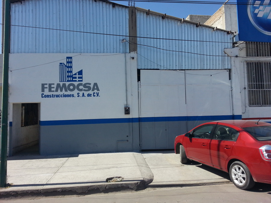 Foto fachada de nuestro taller de femocsa construcciones - Fachadas de talleres ...