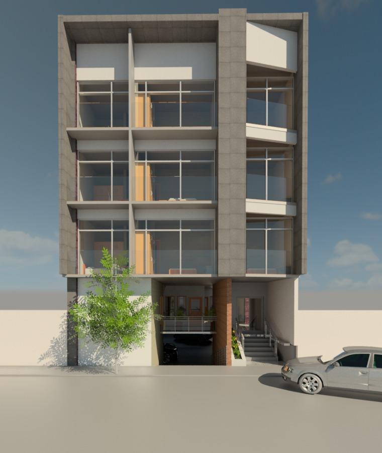 Proyecto arquitectonico departamentos ideas construcci n for Edificio de departamentos planos