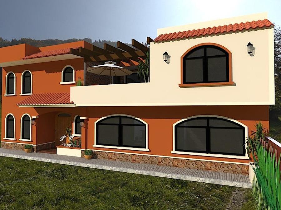 Casas estilo rustico awesome casa estilo rustico with - Casas con estilo rustico ...