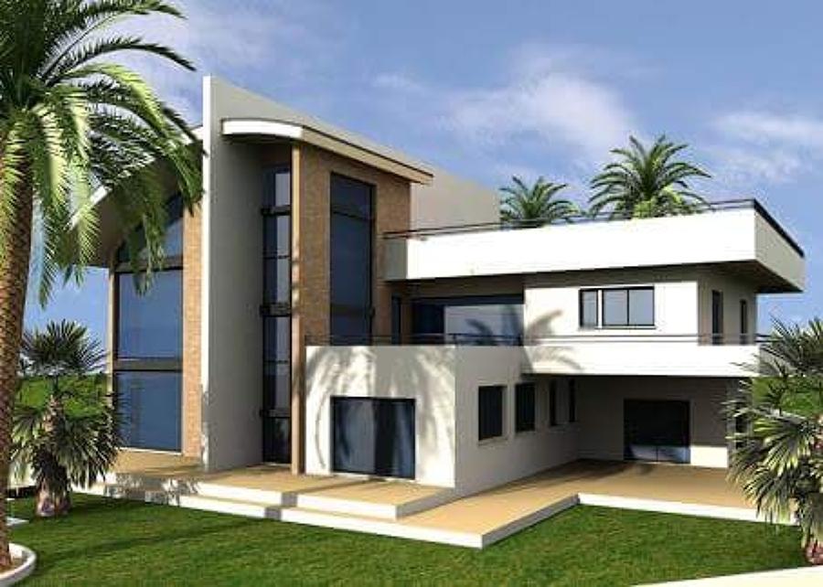 Foto fachada minimalista de jama remodelacion y for Foto casa minimalista