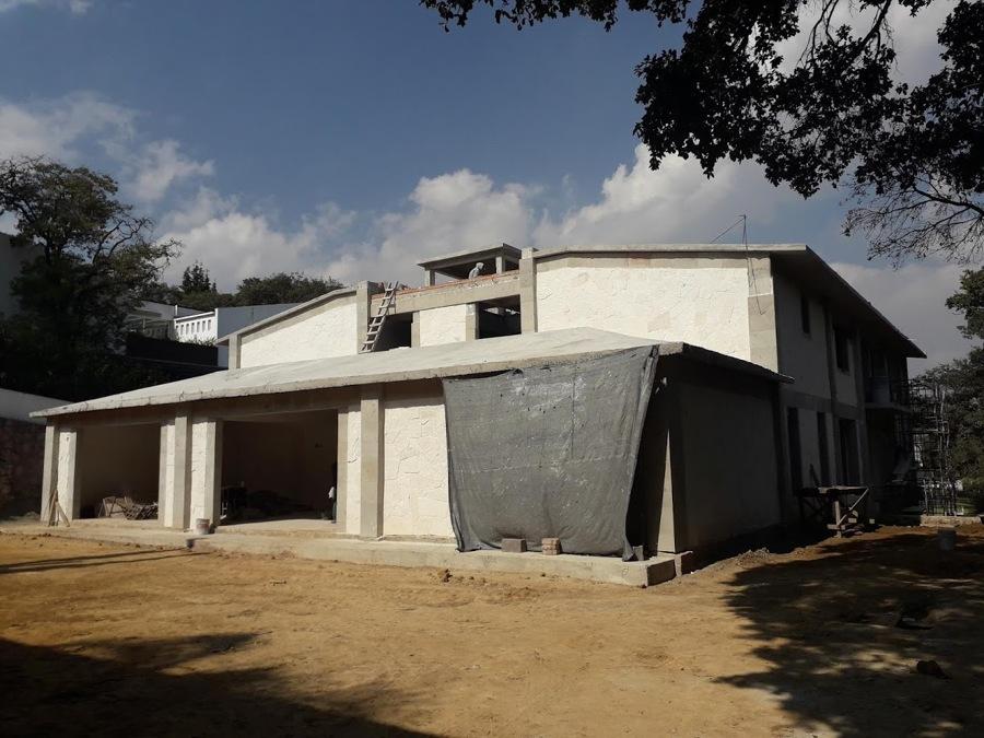 FACHADA POSTERIOR CONSTRUCCION