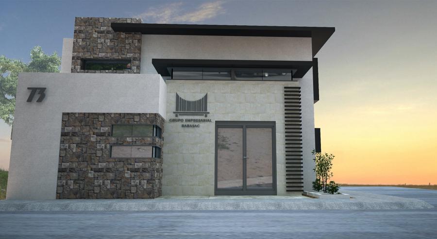 Proyecto oficinas geb ideas arquitectos for Fachadas oficinas minimalistas
