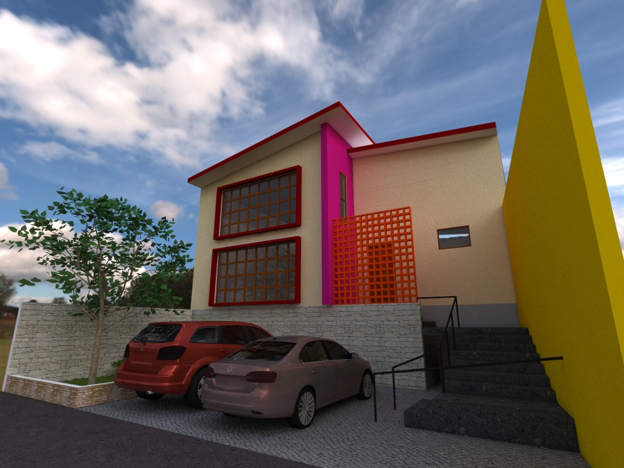 Fachada Principal Casa Habitacion