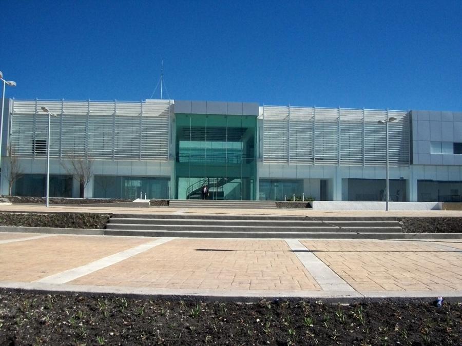 Fachada principal Corporativo, Querétaro.