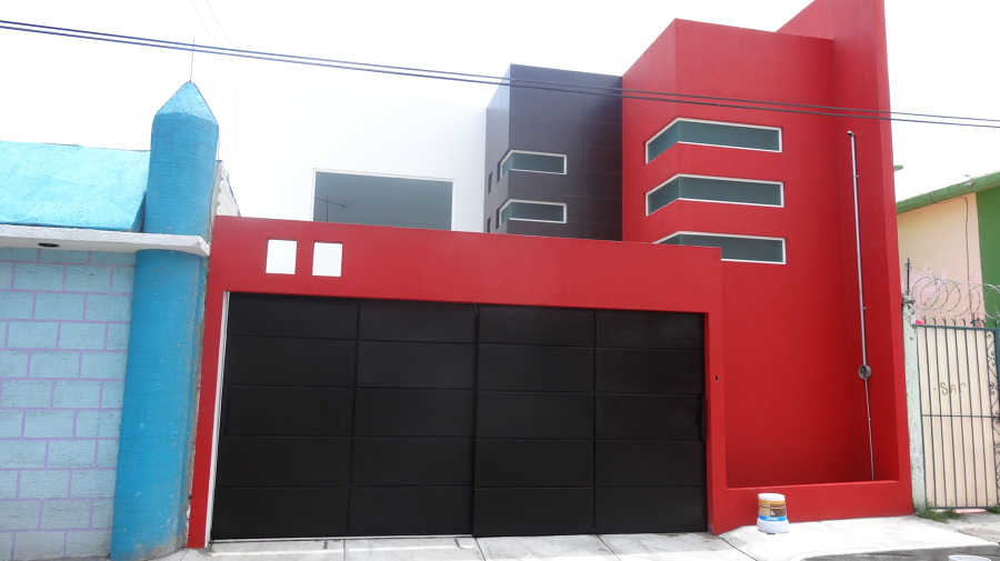 Casas minimalista nayarit casas residencial estilo nayarit for Casa minimalista rojo