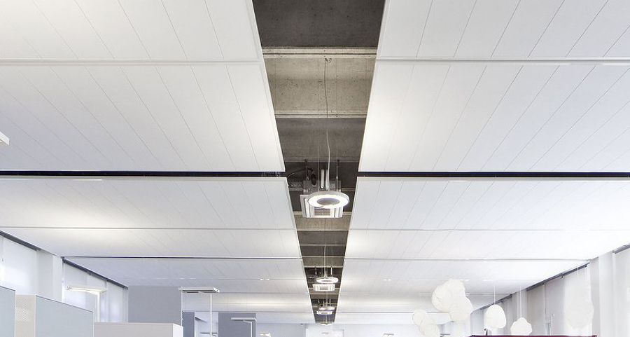 falso techo pladur  registrable