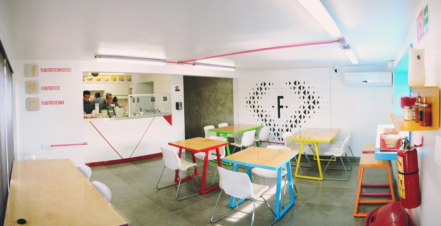 Flautastica Restaurante De Comida Rapida Ideas Arquitectos