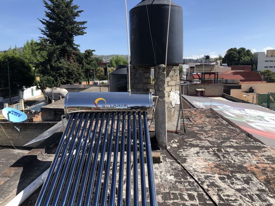 Frontal/Calentador solar