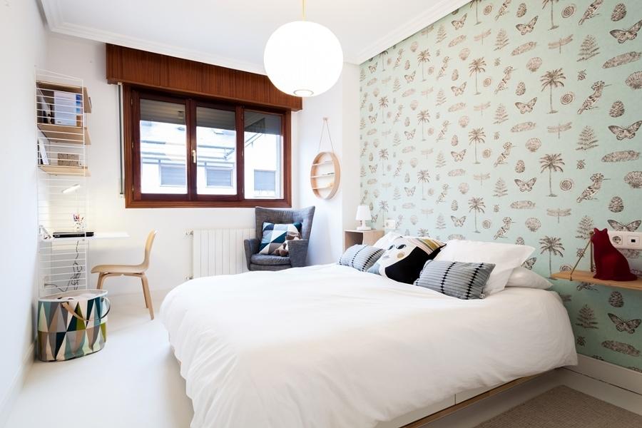 Foto Dormitorio con Papel Pintado 175346 Habitissimo