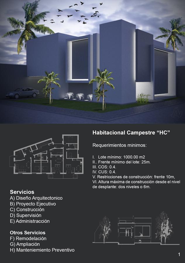 Dise o arquitect nico de casa habitaci n ideas for Diseno de casa habitacion