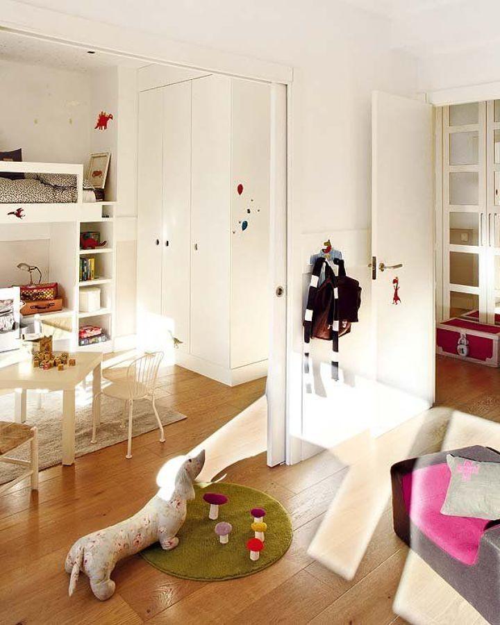Habitaciones infantiles unidas